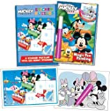 Bundle Box Set: Magic Pen® & Sticker Puzzles - Disney Mickey Mouse