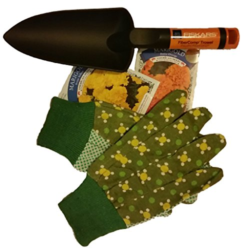 Gardening accessory bundle includes one pair of ladies for Ladies garden trowel set