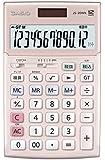 カシオ 本格実務電卓 検算・税計算 ジャストタイプ 12桁 JS-20WK-PK