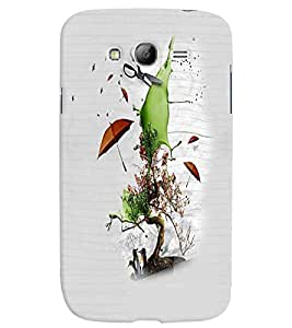 PrintVisa Cute Cartoon Save Nature 3D Hard Polycarbonate Designer Back Case Cover for Samsung Galaxy Grand Neo