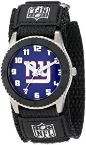 Game Time Mid-Size NFL-ROB-NYG Rookie New York Giants Rookie Black Series Watch