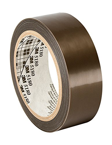 """Tapecase 60 1"""" X 36Yd Translucent Ptfe Film Tape, 4"""" Thick, 36"""" Length, 1"""" Width front-358683"""