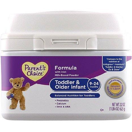 Parent'S Choice Toddler & Older Infant Formula Powder, 22 Oz