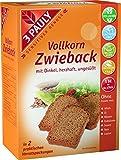 3 PAULY Vollkorn Zwieback mit Dinkel, 5er Pack (5 x 200 g)