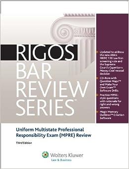 professional responsibility practice essay exam