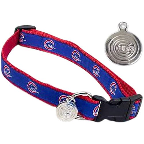 Sporty K9 Chicago Cubs Dog Collar, Medium/Large at Amazon.com