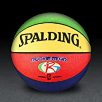Spalding NBA Rookie Gear Composite Basketball - MultiColor - Size 27.5