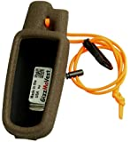 Garmin Astro 220 CASE made by GizzMoVest LLC in 'Hunter's Coffee'. METAL Belt Clip, Wrist Lanyard & Clip. MADE IN THE USA