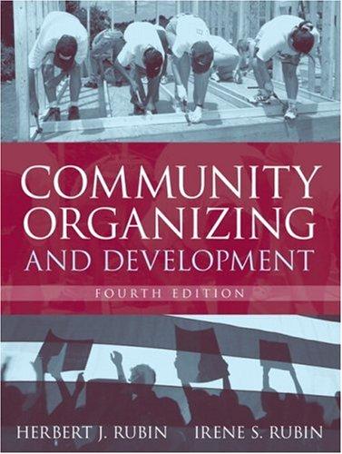 Community Organizing and Development (4th Edition)