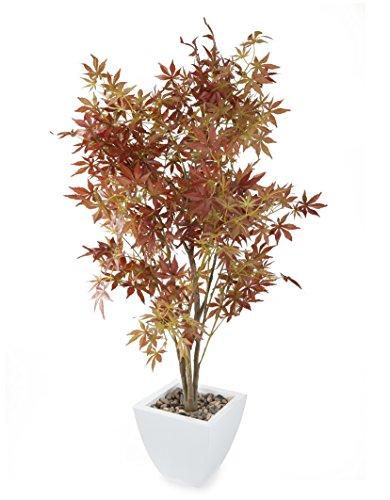 closer-to-nature-t079w-planta-artificial-de-interior-arce-color-rojo