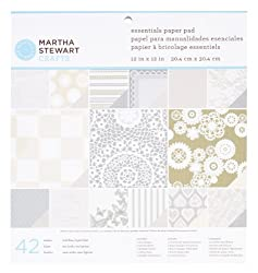 Martha Stewart Crafts Doily Lace Paper Pad