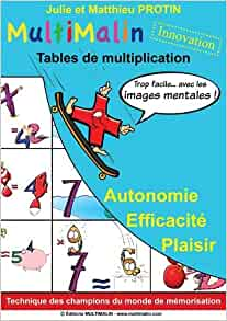 Multimalin tables de multiplication pack le for Methode apprentissage table de multiplication