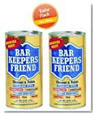Bar Keepers Friend® Cleanser & Polish: 12 OZ, PK-2