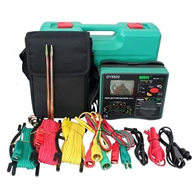 Multimeter - DUOYI DY5500 4 in 1 Multimeter Insulation Tester Earth Tester Voltmeter Phase Indicator