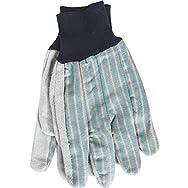 Knit Wrist Leather Work Glove-LRG LEATHER PALM GLOVE