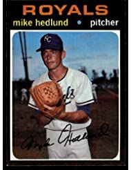 1971 Topps Mike Hedlund Royals (Baseball Card) # 662 Dean's Cards 7 - NM sale off 2015