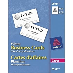 Amazon AVE5911 Avery Business Card fice Products