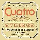 D'Addario J98 Saitensatz für Ukulele, Dulcimer, Tenor Gitarre, Oud Cuatro - Venezuela