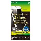 Deff ケミカリー タフンド ガラス スクリーンプロテクター for iPhone6/6S 0.21mm ドラゴントレイルエックス フルフロント 【ホワイト】  DG-IP6SG2FWH
