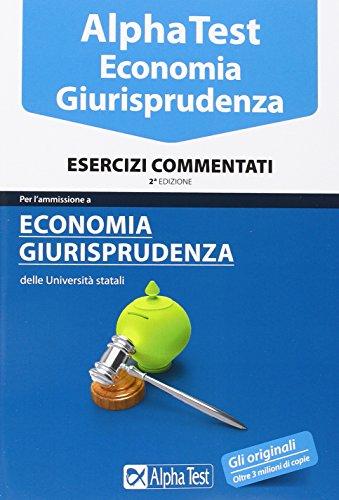 libro alpha test economia kit di preparazione con