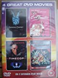 4 Great DVD Movies Set : Donnie Darko / Timecop / Transformers The Movie / Car Trouble