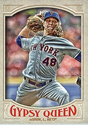 2016 Topps Gypsy Queen #153 Jacob deGrom New York Mets Baseball Card