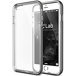 iPhone 6S Case, Verus [Crystal Bumper][Steel Silver] - [Clear Cover][Military Grade Protection] For Apple iPhone 6 6S 4.7