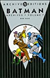 Batman - Archives, Volume 7 (1401214932) by Finger, Bill