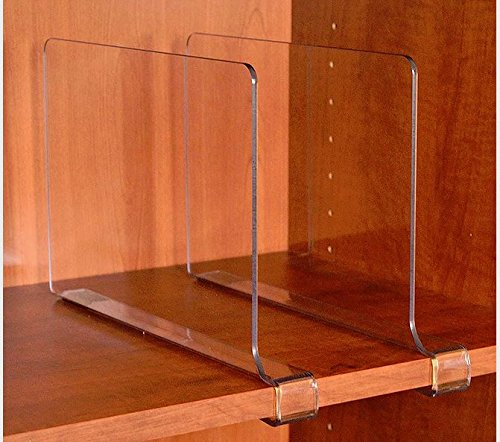 Beautiful Acrylic Shelf Dividers