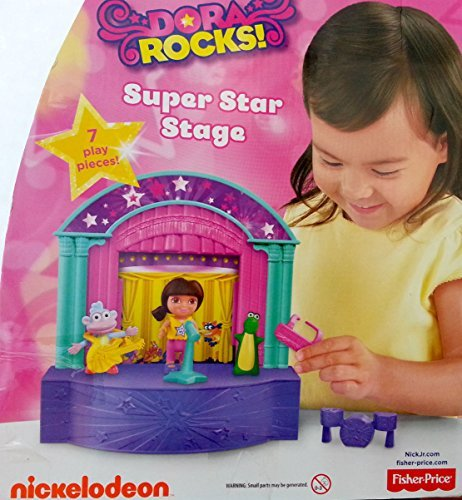 Fisher-Price Dora The Explorer: Dora Rocks Super Star Stage - 1