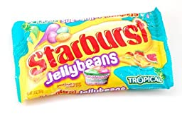 Starburst Jelly Bean Tropical Fruit - 14 Ounce/bag - Three Bag Bundle