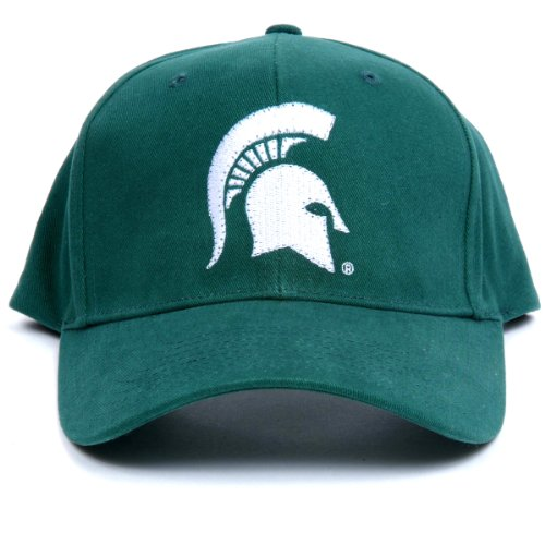 Ncaa Michigan State Spartans Led Light-Up Logo Adjustable Hat