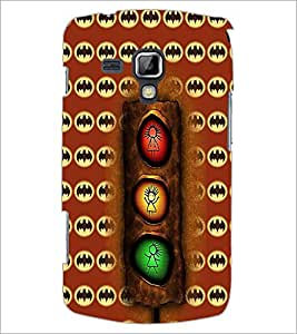 PrintDhaba Signal D-6074 Back Case Cover for SAMSUNG GALAXY S DUOS S7562 (Multi-Coloured)