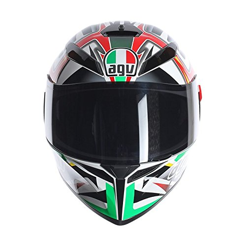 Casco integrale Agv K-3 SV Rav Black White Red Green ML