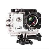 SJCAM正規品」SJ4000 Wi-Fi スポーツカメラ WiFi搭載 30m防水 170度広角レンズ  1080P 液晶画面 HD動画対応 ハルメット式 バイクや自転車、カートや車に取り付け可能 (ホワイト)