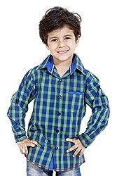 Hushbhi Boy's Shirt (HB0060_Multi-Coloured_7-8 Y)