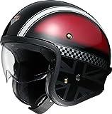 ショウエイ(SHOEI) バイクヘルメット ジェット J・O HAWKER (ホーカー) TC-1 RED/SILVER L (59cm) -