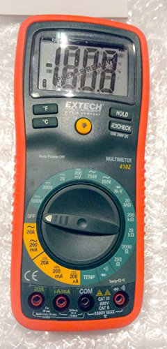 Different Types Of Multimeters : Extech ex z manual ranging digital multimeter with type