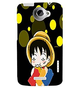 Fuson 3D Designer Back Case Cover For HTC One X+ / HTC One X PLUS