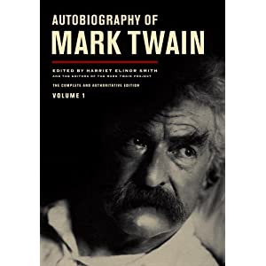 Autobiography of Mark Twain, Vol. 1 at Amazon.com