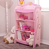 KidKraft Pink Princess 4 - Shelf Bookcase