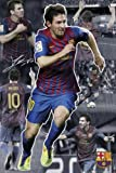 1art1 59192 Poster Football Barcelona FC Lionel Messi Collage 11/12 91 x 61 cm