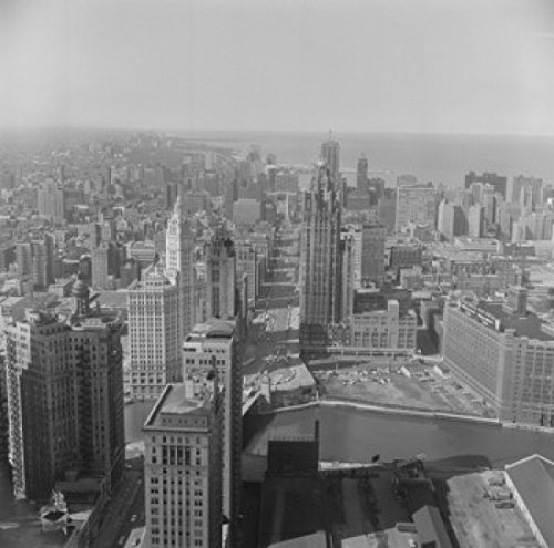 usa-illinois-chicago-downtown-from-prudential-building-poster-drucken-6096-x-9144-cm