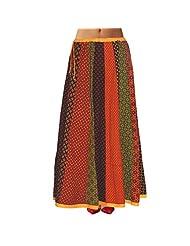 Sttoffa Womens Cotton Skirts -Multi-Colour -Free Size - B00MJO7HB0