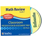 NewPath Learning Math Interactive Whiteboard CD-ROM, Site License, Grade 1