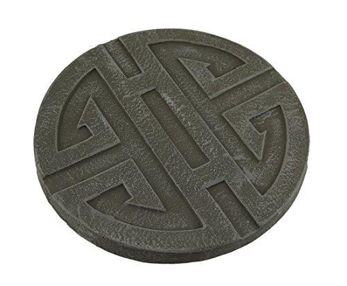 celtic-symbol-grey-cement-decorative-round-step-stone-10-inch