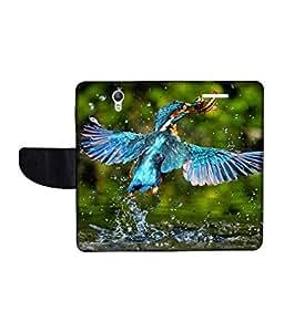 KolorEdge Printed Flip Cover For Lenovo S1 Multicolor - (1478-50KeMLogo11010LenovoS1)