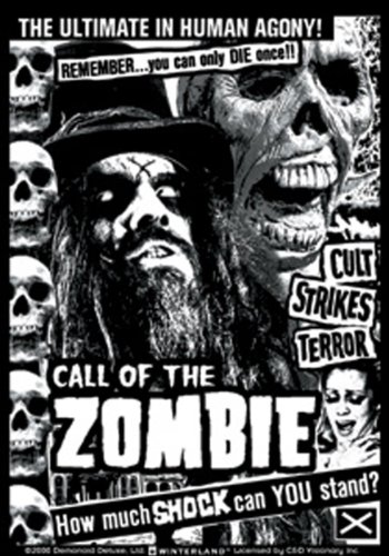 Licenses Products Rob Call of The Zombie Sticker