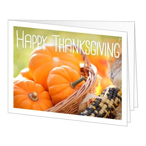 Amazon Gift Card - Print - Happy Thanksgiving (Pumpkins And Maize)