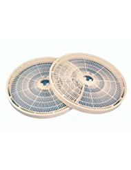 Nesco LT-2SG Add-A-Tray for FD-61 FD-61WHC FD-75A and FD-75PR Dehydrators, Set of 2 by Nesco